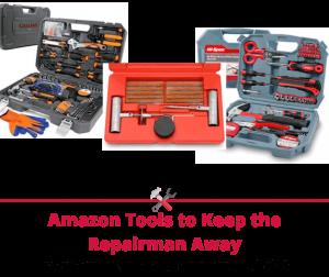 Amazon Tools to Keep the Repairman Away