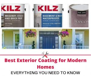 Best Exterior Coating for Modern Homes