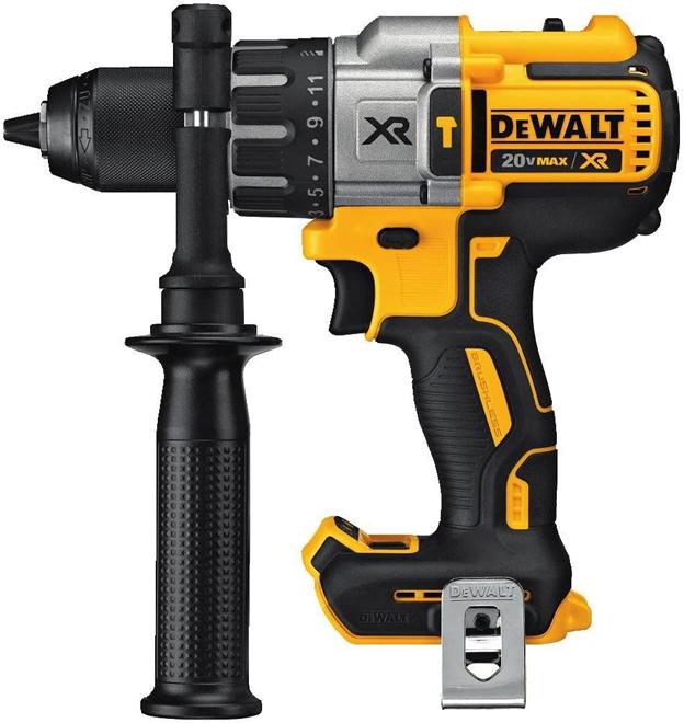 3.DEWALT XR Brushless Hammer Drill best drills