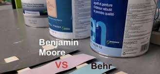 top color brands on amazon. Benjamin Moore vs. Behr, Which Is the Better Paint?