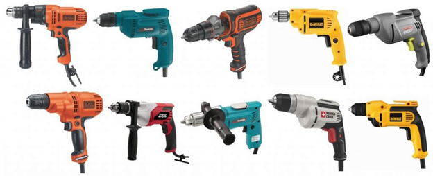 Types of DIY Drills – Types and Features
