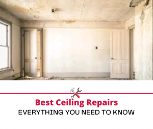 Ceiling Repairs – Most Valuable Points for Smart Home Redesign