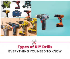 Types of DIY Drills